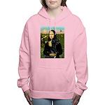 16x20-Mona-BlkGDane-nat Women's Hooded Sweatshirt