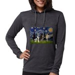5.5x7.5-Starry-GDaneQUAD Womens Hooded Shirt