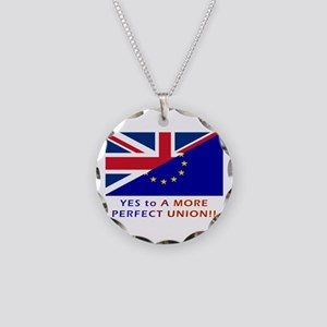 Perfect Union Necklace Circle Charm