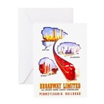 Broadway Limited PRR Greeting Card