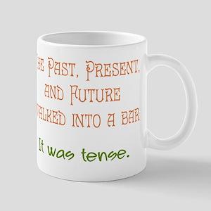 Tense Mugs