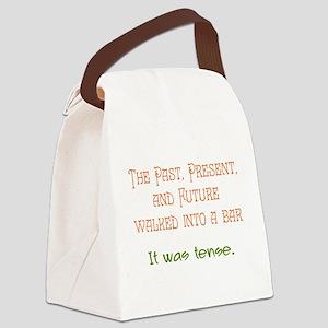Tense Canvas Lunch Bag
