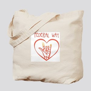 FEDERAL WAY (hand sign) Tote Bag