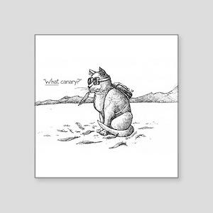 Bad Buner Kitty 1 Sticker