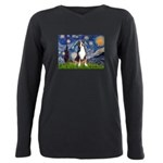 STARRY-GSMD1 Plus Size Long Sleeve Tee