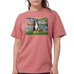 MP-Lilies2-GSMD1 Womens Comfort Colors Shirt