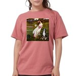 WINDFLOWERS-GSMD1 Womens Comfort Colors Shirt