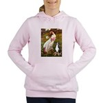 WINDFLOWERS-GSMD1 Women's Hooded Sweatshirt