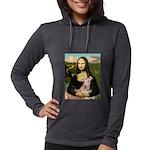 SFP-Mona-Greyhound1 Womens Hooded Shirt