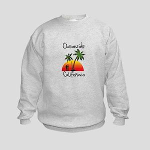 Oceanside California Kids Sweatshirt
