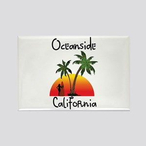 Oceanside California Magnets