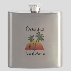 Oceanside California Flask