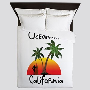 Oceanside California Queen Duvet