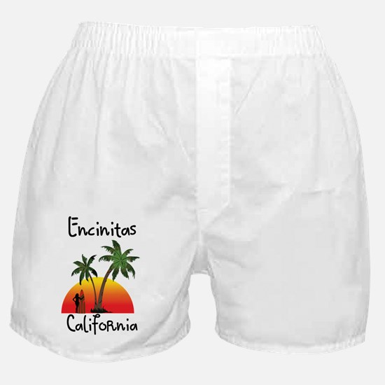 Encinitas California Boxer Shorts