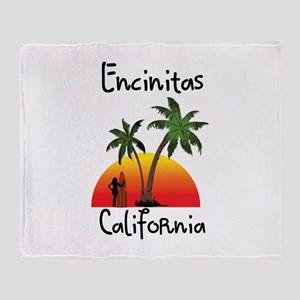 Encinitas California Throw Blanket