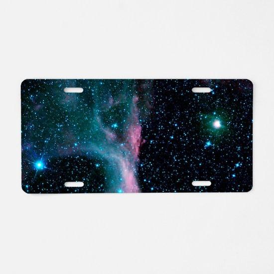 Scorpion's Claw Nebula Aluminum License Plate