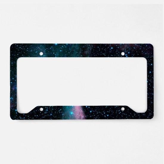 Scorpion's Claw Nebula License Plate Holder