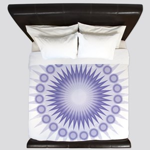 Purple Sun King Duvet