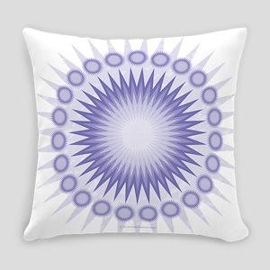 Purple Sun Everyday Pillow