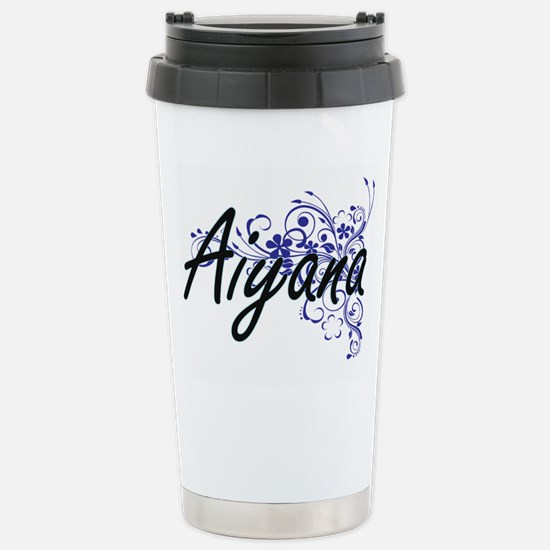 Aiyana Artistic Name De Stainless Steel Travel Mug