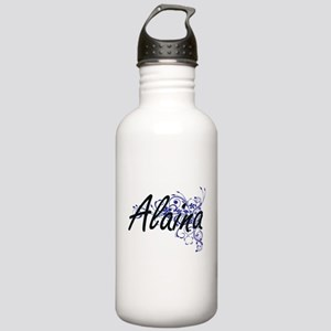 Alaina Artistic Name D Stainless Water Bottle 1.0L