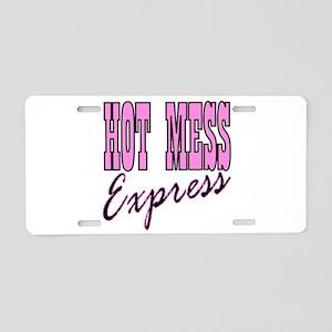 Bachelorette party hot mes Aluminum License Plate