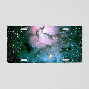 Trifid Nebula Aluminum License Plate