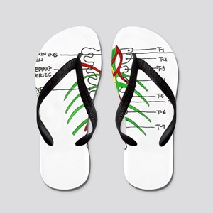 McWall Painting Flip Flops