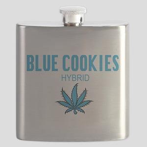 Blue Cookies Hybrid Flask