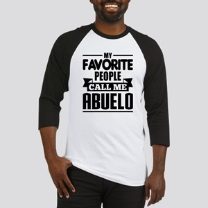 My Favorite People Call Me Abuelo Baseball Jersey