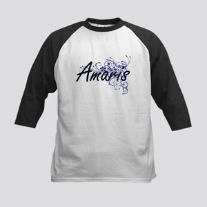Amaris Artistic Name Design with F Baseball Jersey
