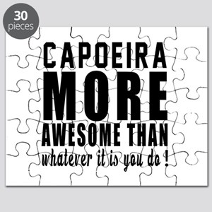Capoeira More Awesome Martial Arts Puzzle