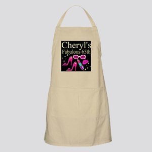 TURNING 65 Light Apron