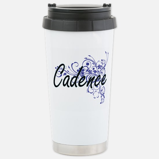 Cadence Artistic Name D Stainless Steel Travel Mug