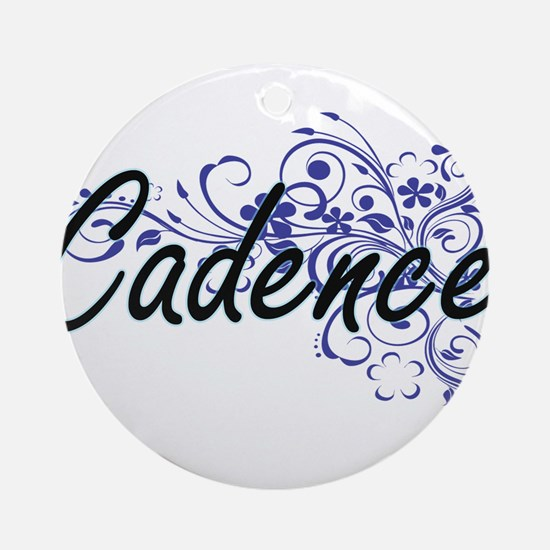 Cadence Artistic Name Design with F Round Ornament