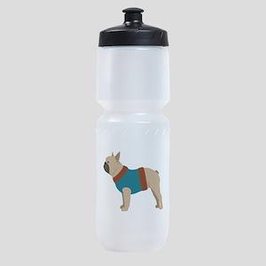 French Bulldog Sports Bottle
