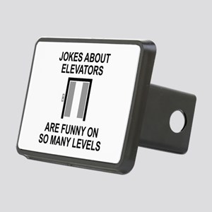 Jokes About Elevators Rectangular Hitch Cover
