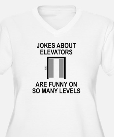 Jokes About Elevators T-Shirt