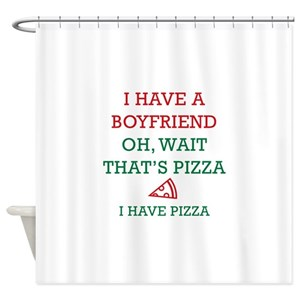 Pizza Shower Curtains