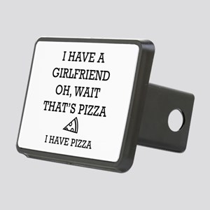 I Have Pizza Rectangular Hitch Cover