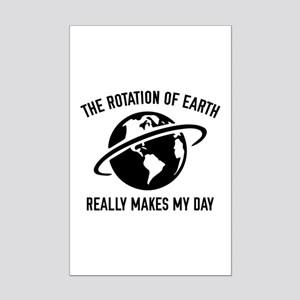 The Rotation Of The Earth Mini Poster Print