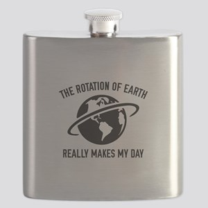 The Rotation Of The Earth Flask