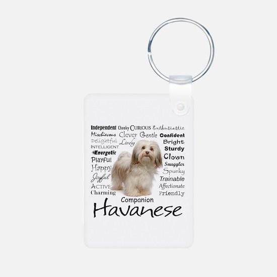 Havanese Traits Keychains