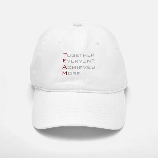 TEAM Together Everyone Achieves Baseball Baseball Cap