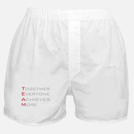TEAM Together Everyone Achieves Boxer Shorts