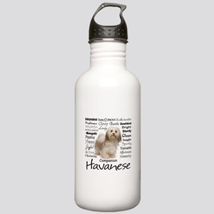 Havanese Traits Water Bottle
