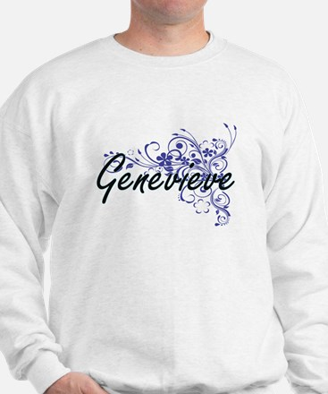 Genevieve Artistic Name Design with Flo Jumper