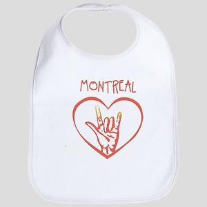 MONTREAL (hand sign) Bib