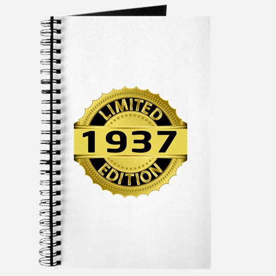 Limited Edition 1937 Journal
