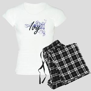 Ivy Artistic Name Design wi Women's Light Pajamas